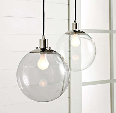 light the chrome compressed lights pendant home glass polished depot sydney finish electric n globe hanging lighting clear b