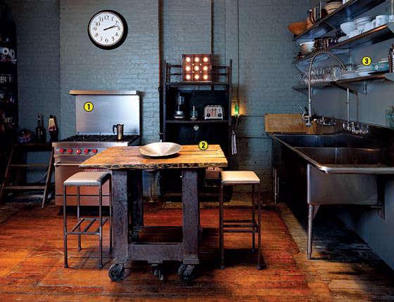 Phenomenal Slow Design Industrial Strength Kitchen Remodelista Home Interior And Landscaping Eliaenasavecom