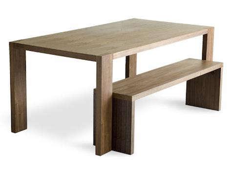 Gus Modern Plank Dining Bench