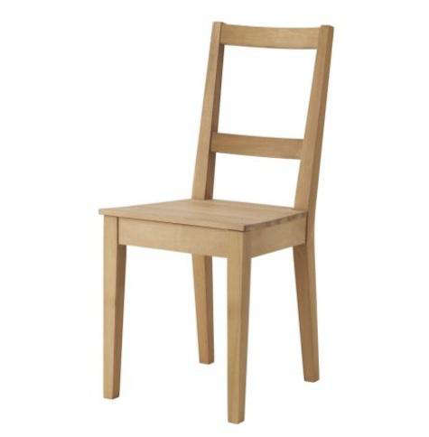 Ikea Pine Dining Chairs Bertil Chair