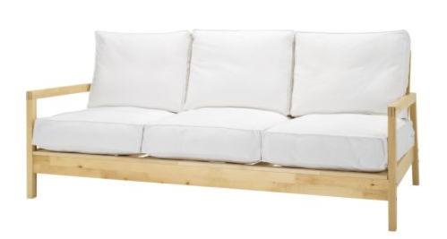 Sofabett holz  Lillberg Sofa