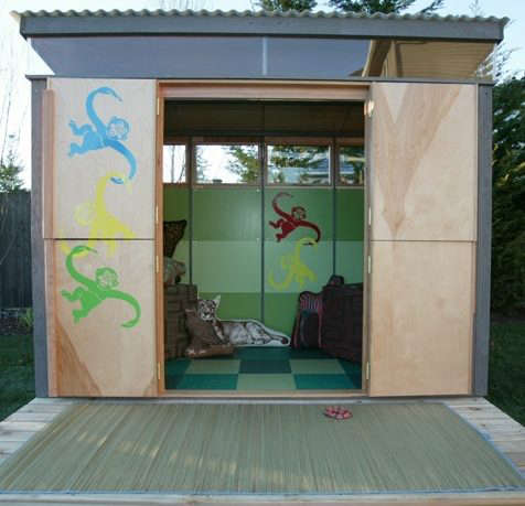 Outdoors Modern Play Shed Remodelista