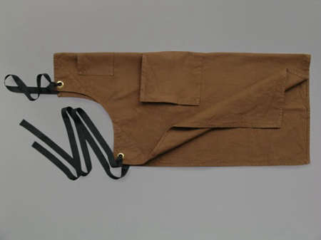 c82caa4d453 Above  Brown Cotton Canvas Apron  £22 from Labour and Wait in London.  According to the owners