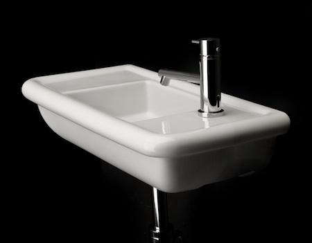 alia wall mounted porcelain lavatory sink