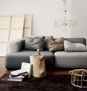 Above: Italian Architect And Designer Piero Lissoniu0027s Appealing Alphabet Modular  Sofa System For Fritz Hansen Is Comprised Of Four Basic Shapesu2014 Seat, ...