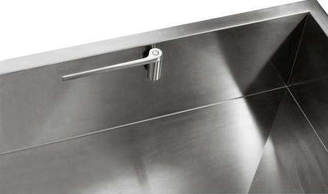 magisso straight ss kitchen cloth holder - Kitchen Sink Holder