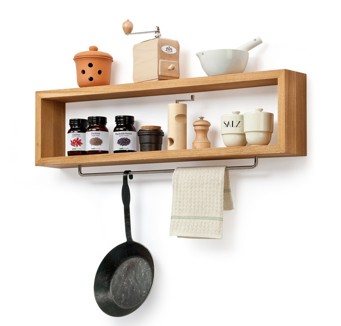 Oak Wood Shelf