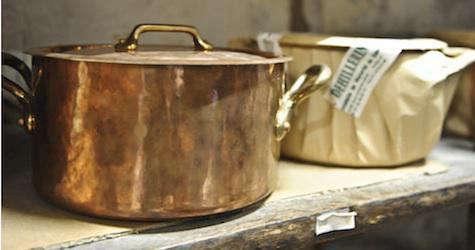 mauviel copper butter warmer - Mauviel