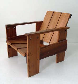 Captivating Crate Chair