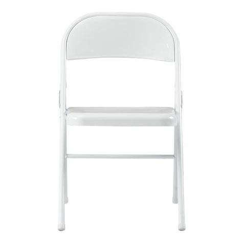 White Metal Folding Chairs metal white folding chair