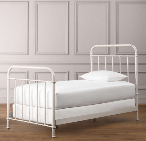 Fabulous millbrook iron bed restoration hardware