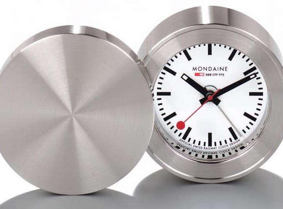 Mondaine Official Railways Travel Alarm Clock