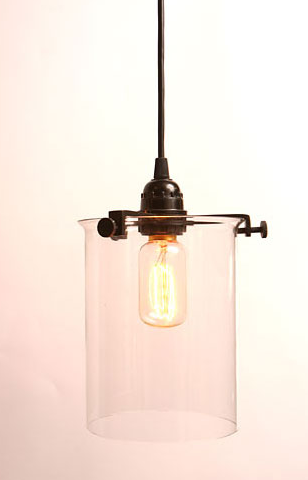 The Roost Glass Cylinder Lamp is also available online at Velocity Art and  Design for  130  both as a hanging pendant and as a table lamp Lighting  Roost Clear Glass Cylinder Lamp   Remodelista. Roost Lighting Design. Home Design Ideas