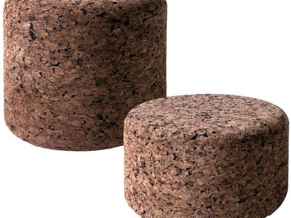 Moooi Cork Low Stools