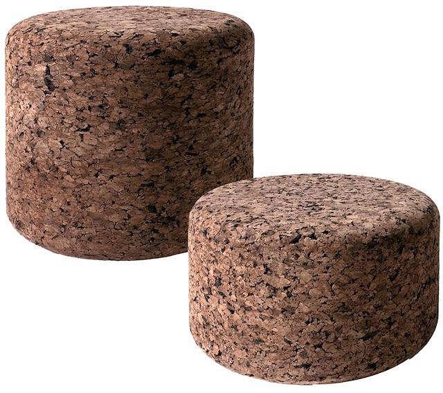 Moooi Cork Low Stools