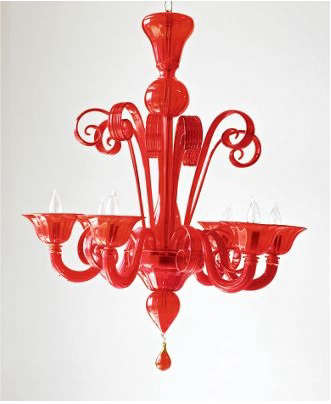 Glass chandelier murano glass chandelier aloadofball Image collections