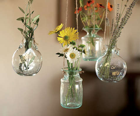 Bolla Glass Hanging Vases