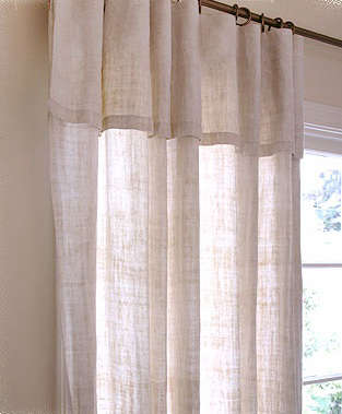 Walls Windows Amp Floors Natural Hemp Curtains From The