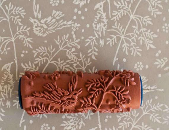 Patterned Paint Roller 1 patterned paint roller