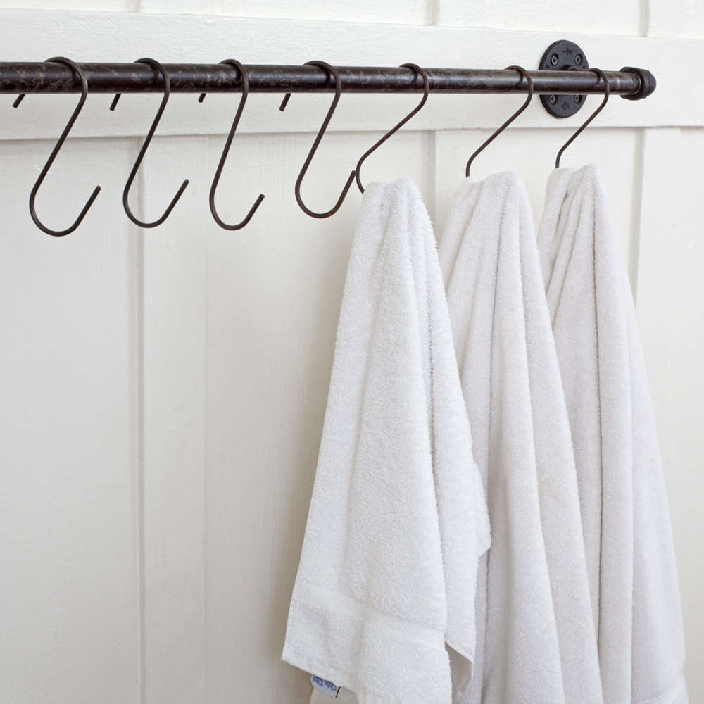 Steal This Look Ace Hotel Bath Remodelista - White linen shower curtain