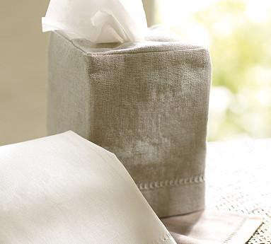 Accessories Linen Tissue Box Covers Remodelista
