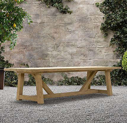 Provence Beam Rectangular Dining Table