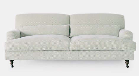Raffles Saddle Arm Sofa
