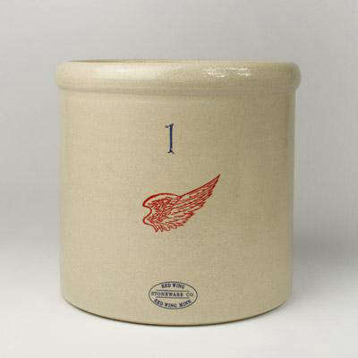 Red Wing Stoneware Crock