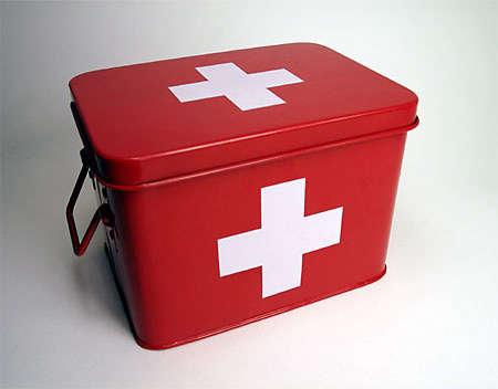 Swiss Cross Medicine Box