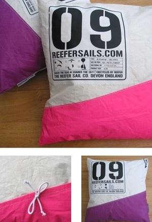 Reefer Sailcloth Cushions