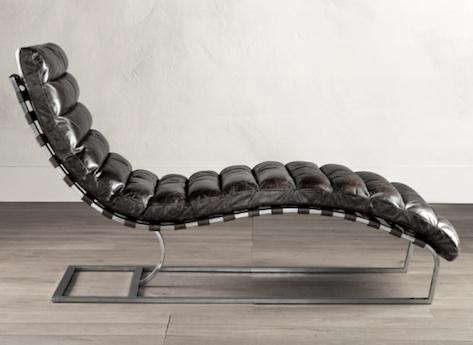 Stupendous Oviedo Chaise Vintage Cigar Leather Creativecarmelina Interior Chair Design Creativecarmelinacom