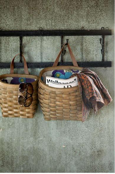 Storage Woven Adirondack Pack Baskets Remodelista