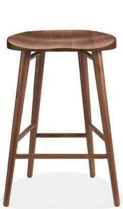 10 Easy Pieces Wooden Counter Stools Remodelista