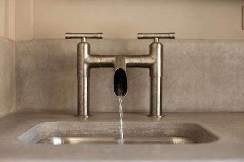 Industrial Faucet bathroom faucets & tub fillers - curated collection from remodelista