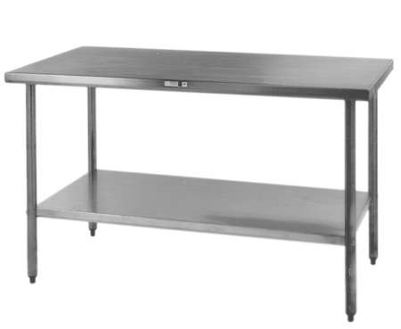 Economy Stainless Steel Kitchen Island Work Table