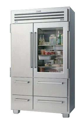 Sub Zero Pro 48 Inch Glass Front Refrigerator