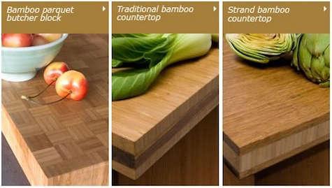 Teragren Bamboo Countertops & Panels