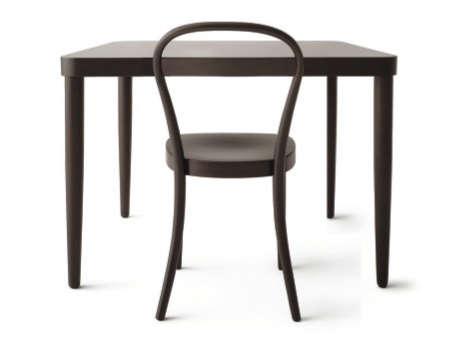 Above: Thonet Beech Table; $795.75 At MUJI.