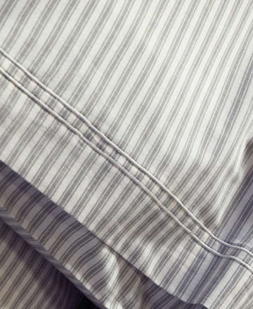 Ticking Stripe Bed Linens