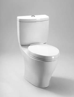 Toto Aquia Ii Close Coupled Elongated Dual Flush Toilet