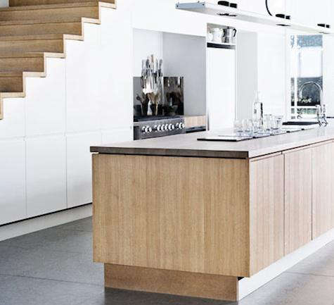 Charming Storage: Kitchens Under The Stairs