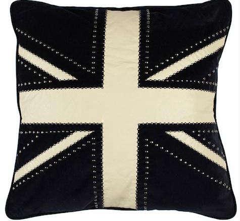 Union Jack Flag Cushion Pillow