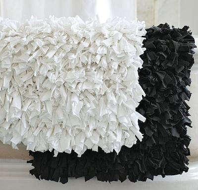 Chevron Bath Rug White