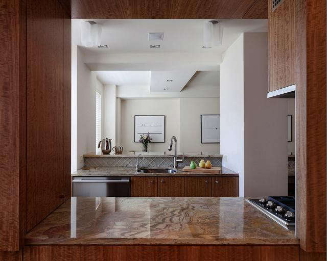 Above: To Make Sure The Kitchen Had Enough Counter Space And Storage, The  Architects Created A Window Instead Of Implementing Pocket Doors.