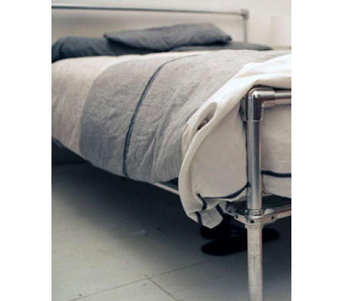 Diy Pipe Bed Frame Remodelista