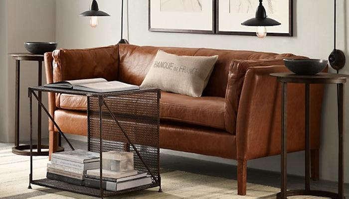 10 easy pieces modern leather sofas