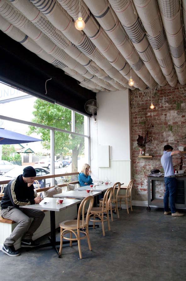 A Coin Laundry Turned Cafe - Remodelista