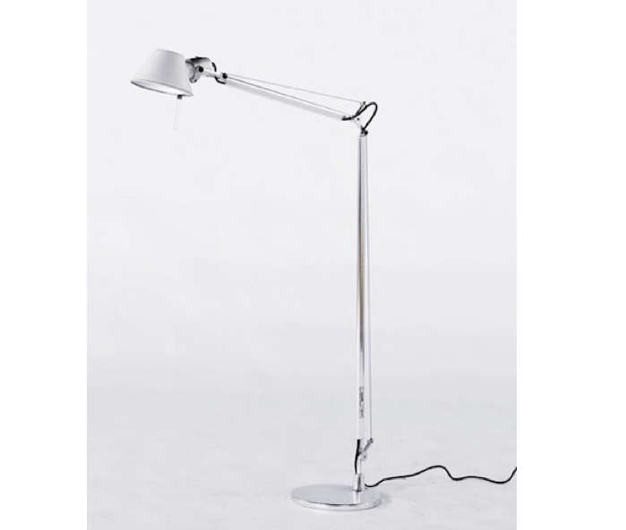 Above the tolomeo reading floor lamp is 500 at y lighting