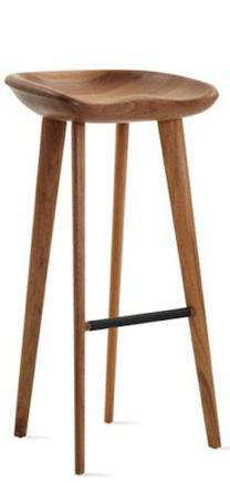 Furniture High Low Walnut Tractor Stool Remodelista
