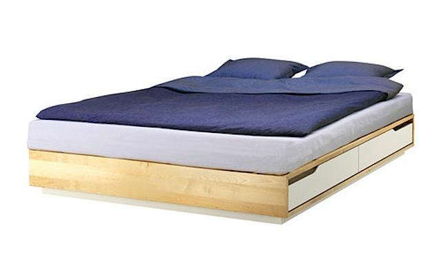 Great Above: Ikea Also Offers The Simple Mandal Platform Bed With Storage  Drawers; $349.